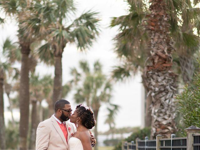 Lorenzo and Toniqua's Wedding in Myrtle Beach, South Carolina 97