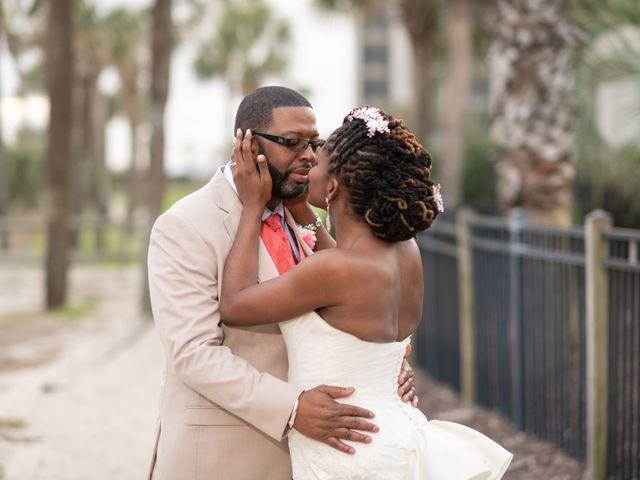 Lorenzo and Toniqua's Wedding in Myrtle Beach, South Carolina 98