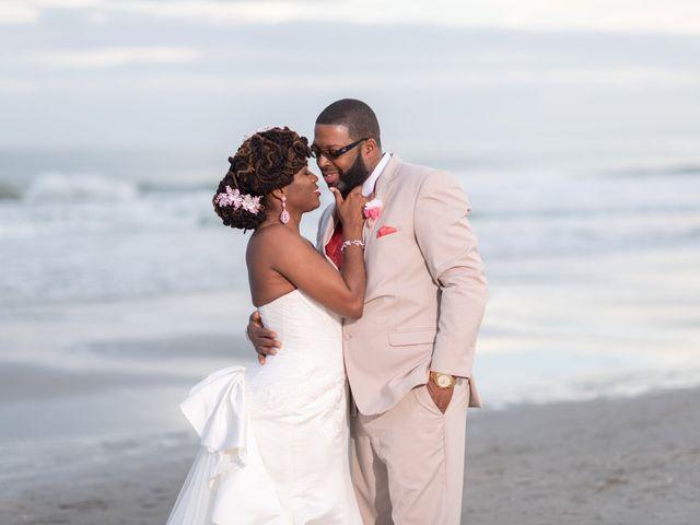 Lorenzo and Toniqua's Wedding in Myrtle Beach, South Carolina 100