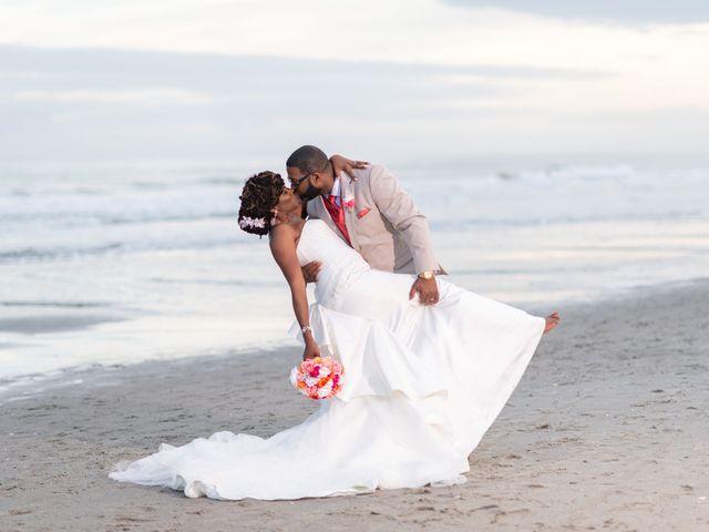 Lorenzo and Toniqua's Wedding in Myrtle Beach, South Carolina 101