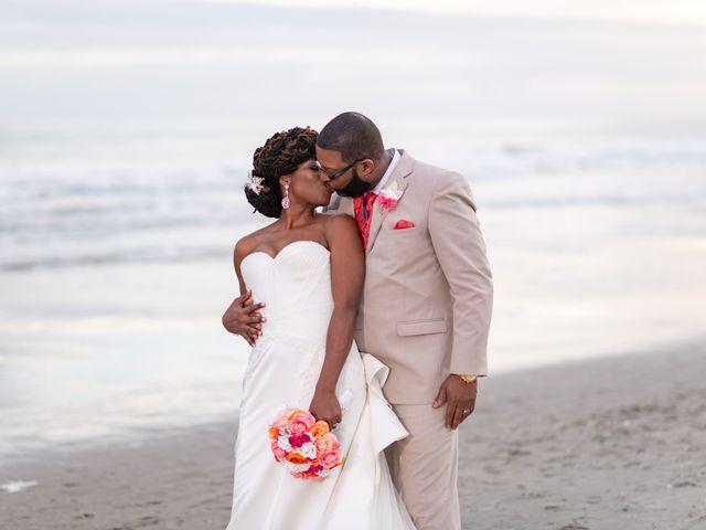 Lorenzo and Toniqua's Wedding in Myrtle Beach, South Carolina 104