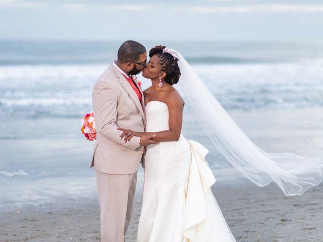Lorenzo and Toniqua's Wedding in Myrtle Beach, South Carolina 105