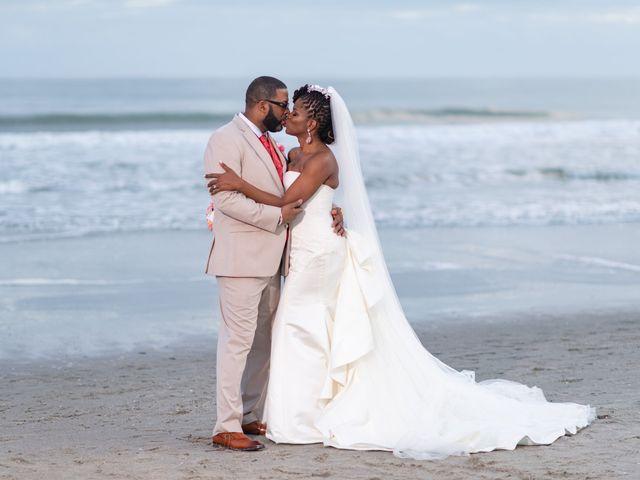 Lorenzo and Toniqua's Wedding in Myrtle Beach, South Carolina 106