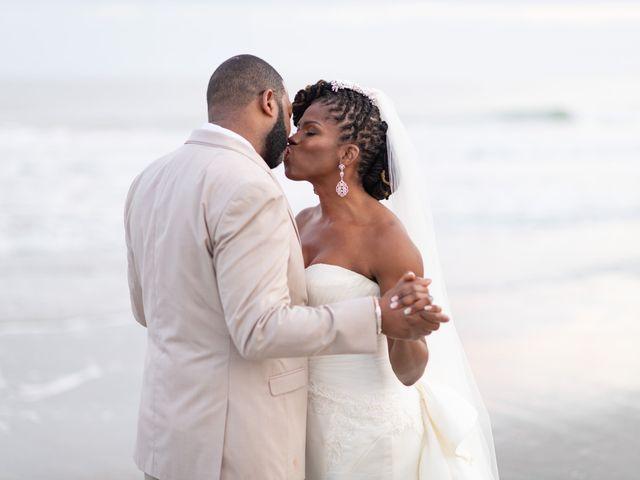 Lorenzo and Toniqua's Wedding in Myrtle Beach, South Carolina 108