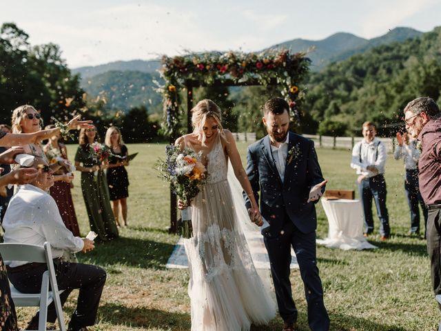 Preston and Ashlyn's Wedding in Asheville, North Carolina 1
