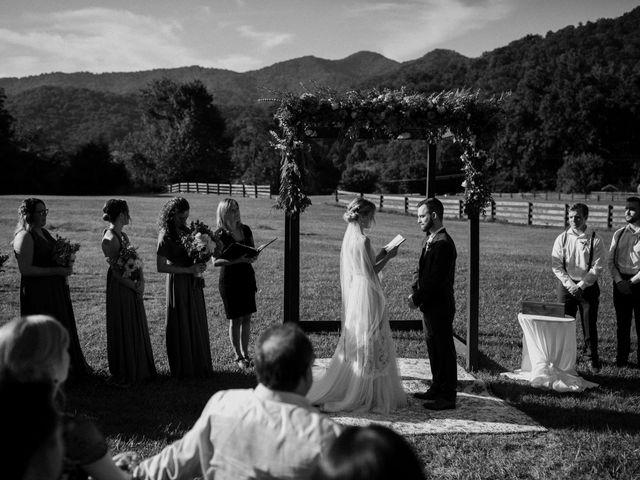 Preston and Ashlyn's Wedding in Asheville, North Carolina 27