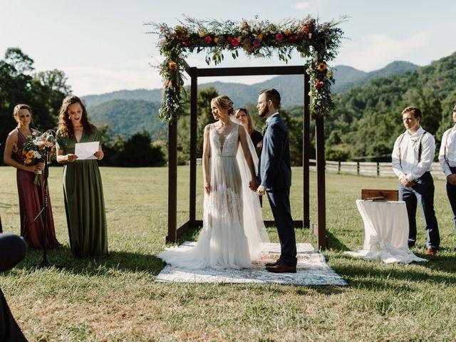 Preston and Ashlyn's Wedding in Asheville, North Carolina 29