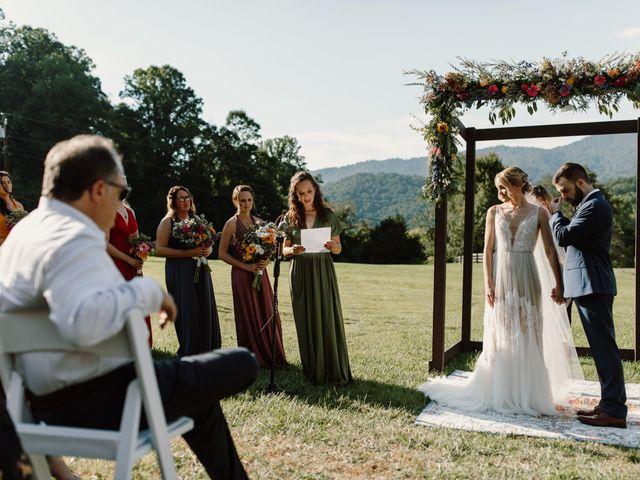 Preston and Ashlyn's Wedding in Asheville, North Carolina 30