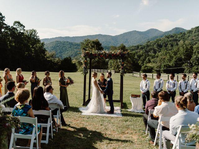 Preston and Ashlyn's Wedding in Asheville, North Carolina 31