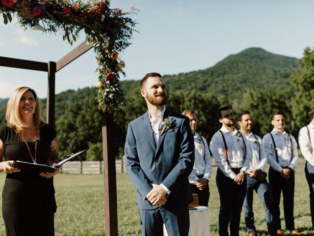 Preston and Ashlyn's Wedding in Asheville, North Carolina 32