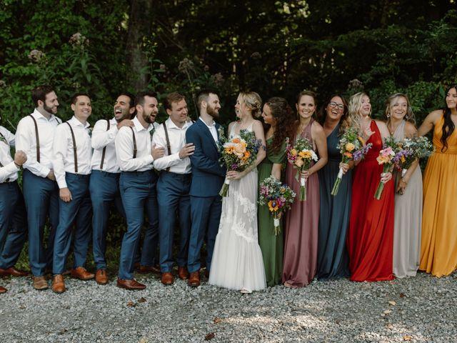Preston and Ashlyn's Wedding in Asheville, North Carolina 34