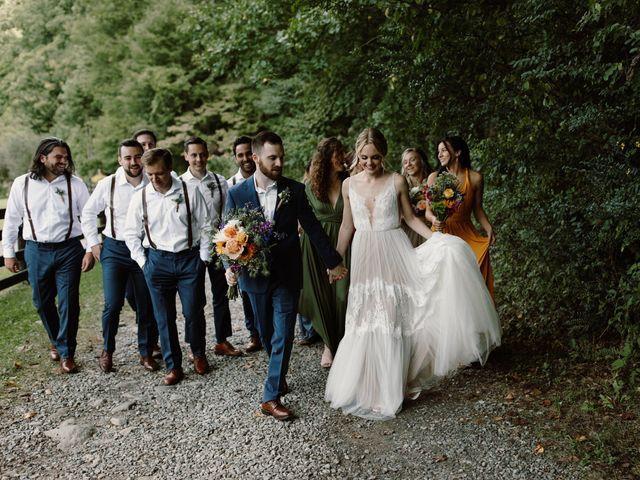 Preston and Ashlyn's Wedding in Asheville, North Carolina 35