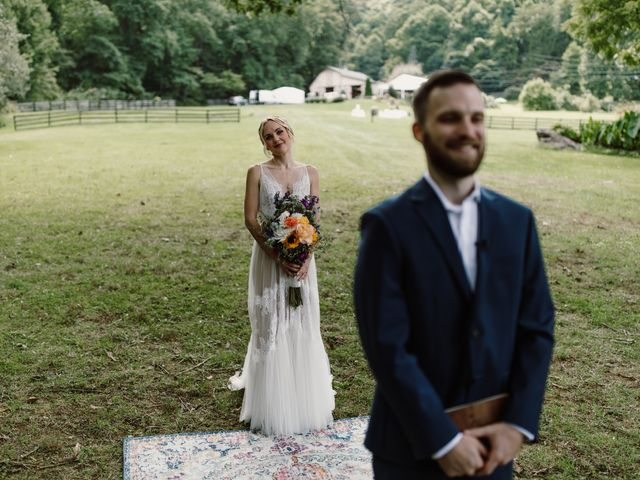 Preston and Ashlyn's Wedding in Asheville, North Carolina 54