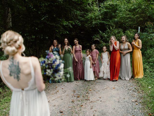 Preston and Ashlyn's Wedding in Asheville, North Carolina 56