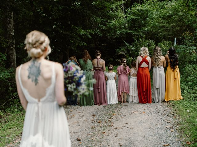 Preston and Ashlyn's Wedding in Asheville, North Carolina 57