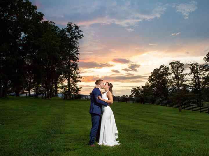 The wedding of Erika and Owen