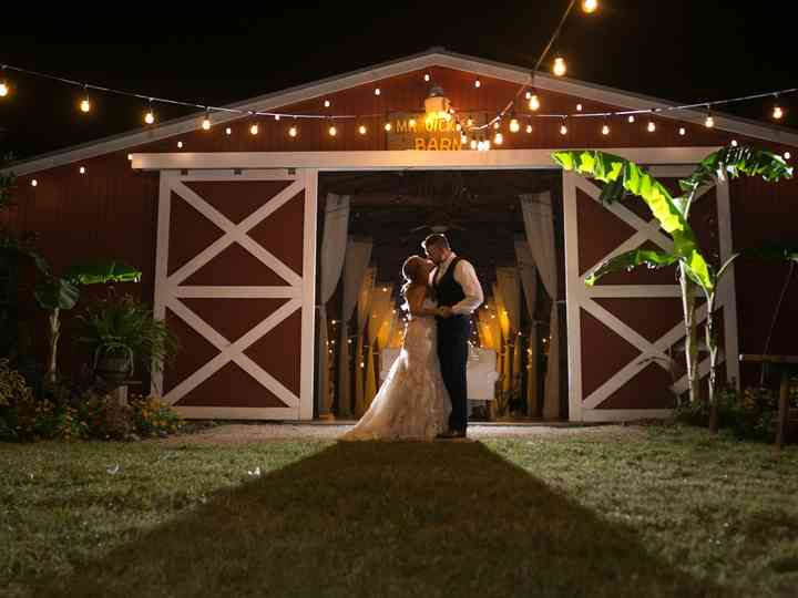 The wedding of Krystle and Jeff