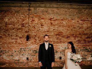 The wedding of Kristin and Sean