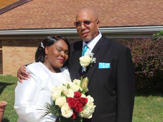 The wedding of LaWanda and Mark