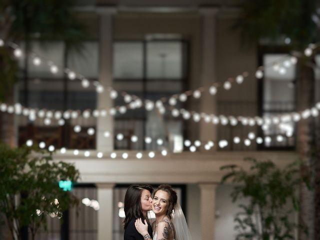 The wedding of Renee and Lindsay
