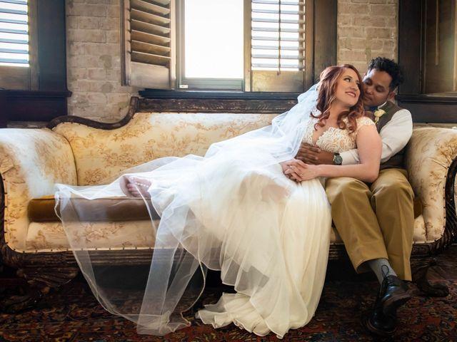 The wedding of Vanessa and Hugo