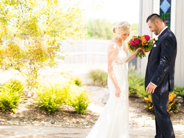 The wedding of Amber and Stephen