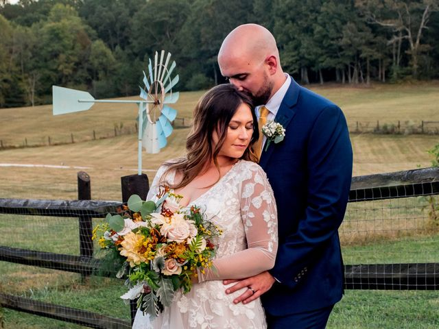 The wedding of Madison and Eric