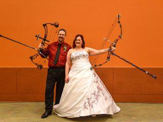 The wedding of Scott and Teresa