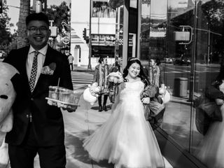 The wedding of Irene and Alex 1