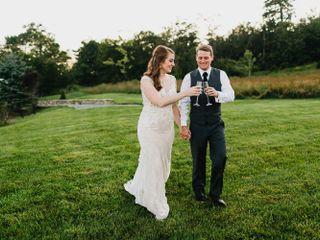 The wedding of Meghan and Wesley