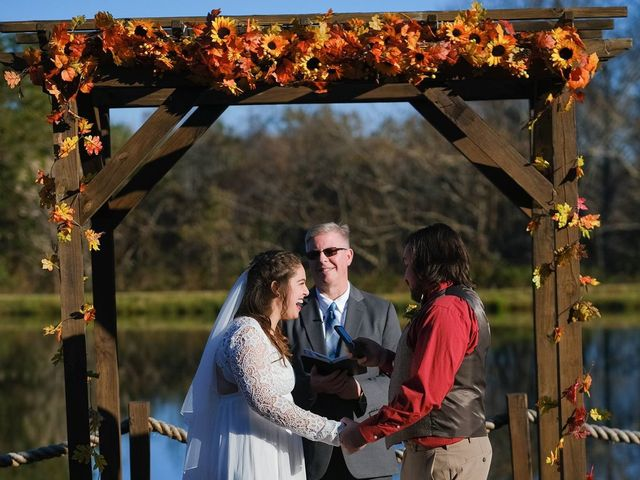 The wedding of Amber and Bryton