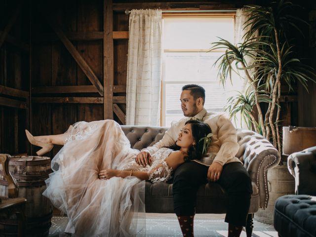 The wedding of Eiriz and Ian