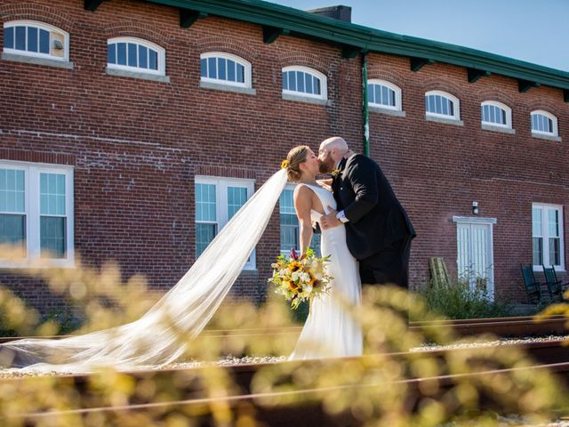 Sean and Kelly's Wedding in Plymouth, Massachusetts 19