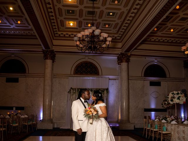 Antonette and Wilfred's Wedding in Baltimore, Maryland 23