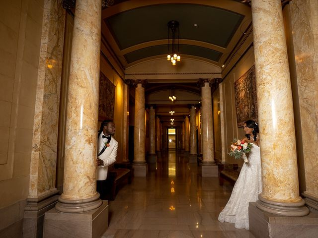 Antonette and Wilfred's Wedding in Baltimore, Maryland 24