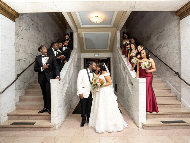 Antonette and Wilfred's Wedding in Baltimore, Maryland 28