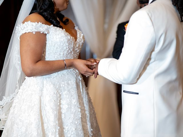 Antonette and Wilfred's Wedding in Baltimore, Maryland 4
