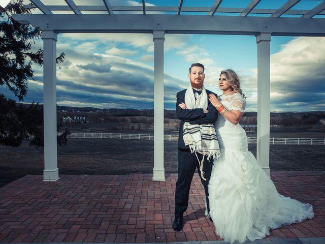 The wedding of Joshua and Sophia