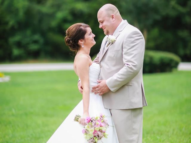 The wedding of Cole and Megan