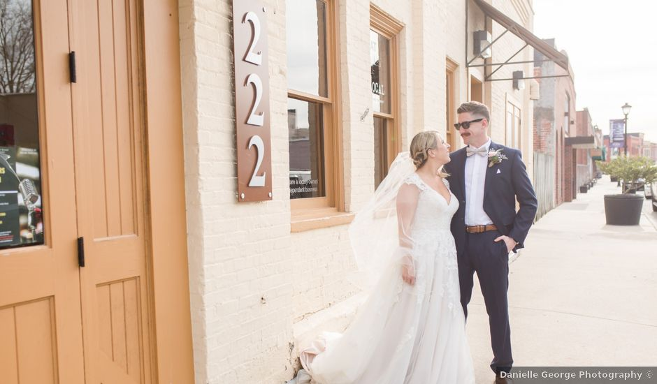 Zach and Dori's Wedding in Elkin, North Carolina