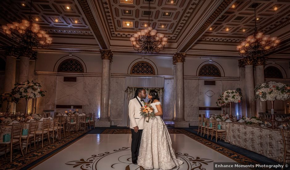 Antonette and Wilfred's Wedding in Baltimore, Maryland