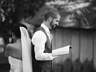 Shannon and Alex's Wedding in Evington, Virginia 9