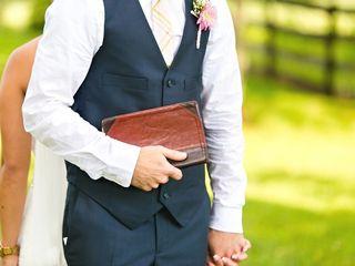 Shannon and Alex's Wedding in Evington, Virginia 10