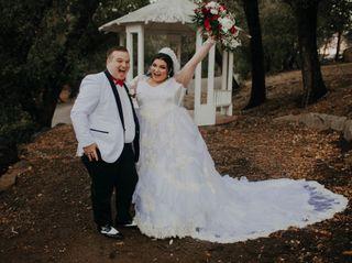 The wedding of Kiana Lyz Cerney  and Dustynn Zachary Cerney  3