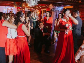 The wedding of Kiana Lyz Cerney  and Dustynn Zachary Cerney  1