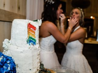 The wedding of Nira and Victoria 1