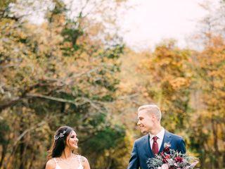 The wedding of Carol and Adam 1
