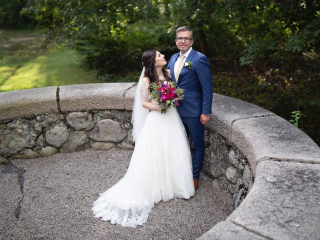The wedding of Iris and Shane