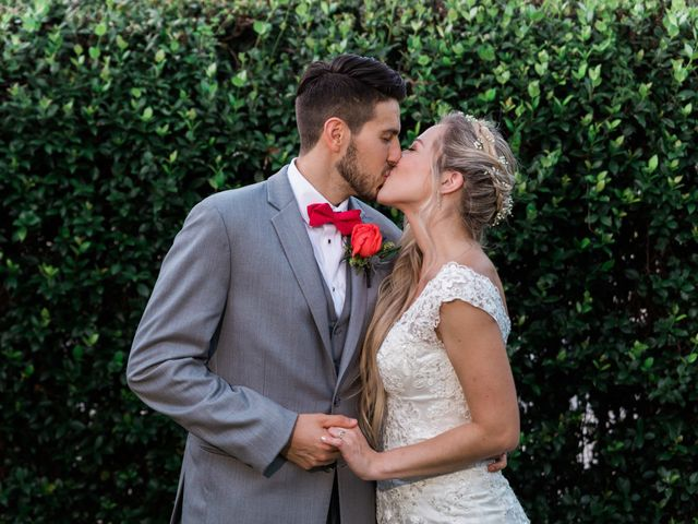 The wedding of Madeleine and Tyler