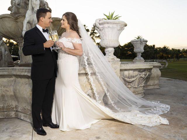 The wedding of Samantha and Ernie